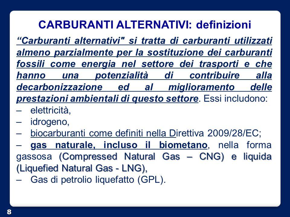 Decreto 31 marzo 2014 - gas naturale per autotrazione.