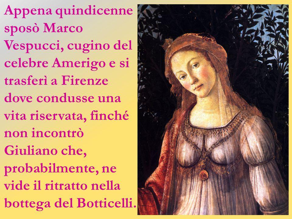 Entrambe bionde e bellissime, furono amate dagli uomini più potenti della loro epoca: da Giuliano e Lorenzo De' Medici Simonetta, da John e Robert Kennedy Marilyn.