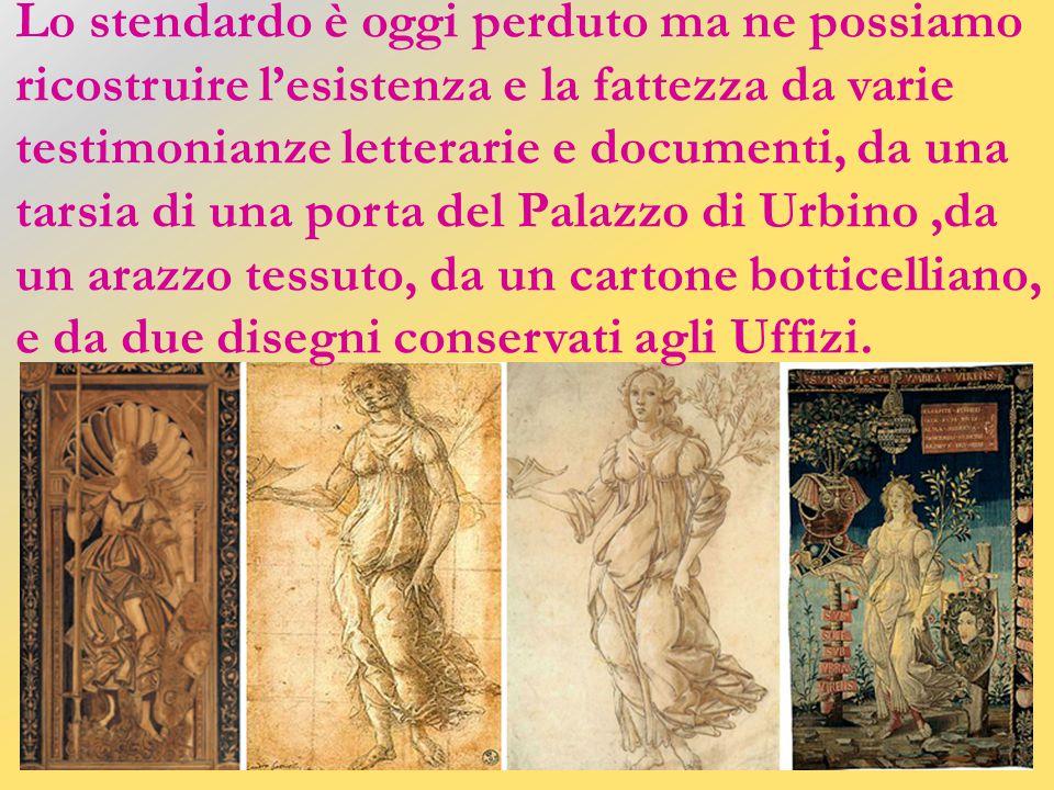 Il torneo fu disputato in piazza Santa Croce il 28 gennaio1475, nel giorno del compleanno di Simonetta. Giuliano, vinto il torneo, si presentò con uno