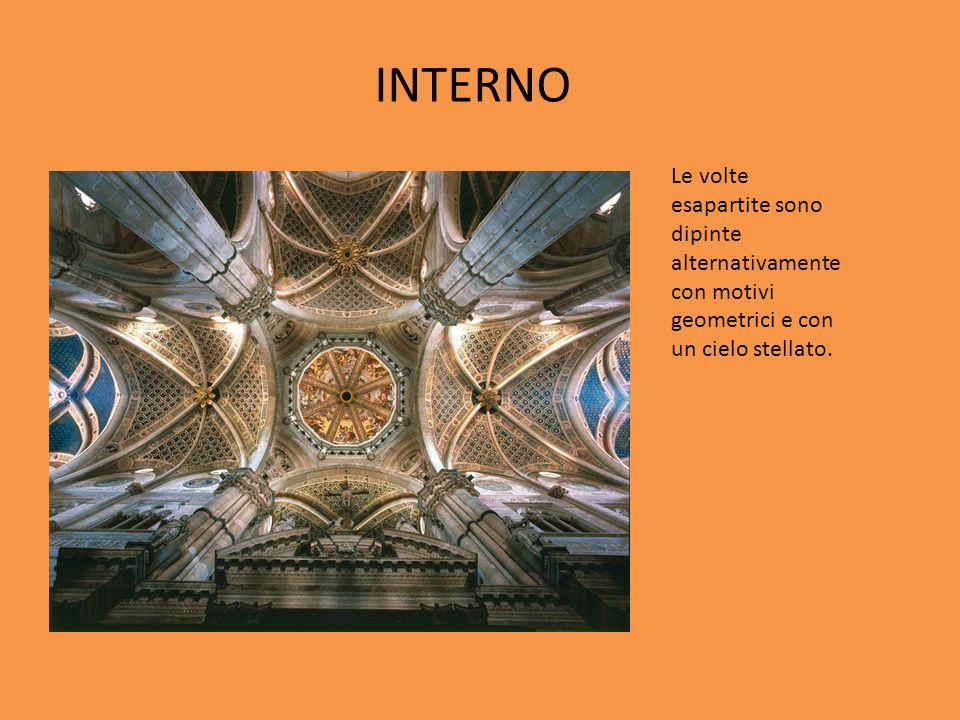 Nell abside di destra del transetto è collocato un affresco di Bergognone con Gian Galeazzo Visconti che presenta alla vergine il modello della Certosa tra Filippo Maria Visconti, Galeazzo Maria Sforza e Gian Galeazzo Sforza, eseguito tra il 1490- 1495.