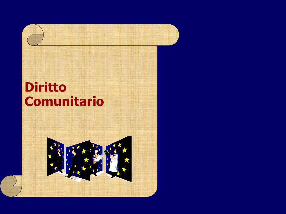 Diritto Comunitario