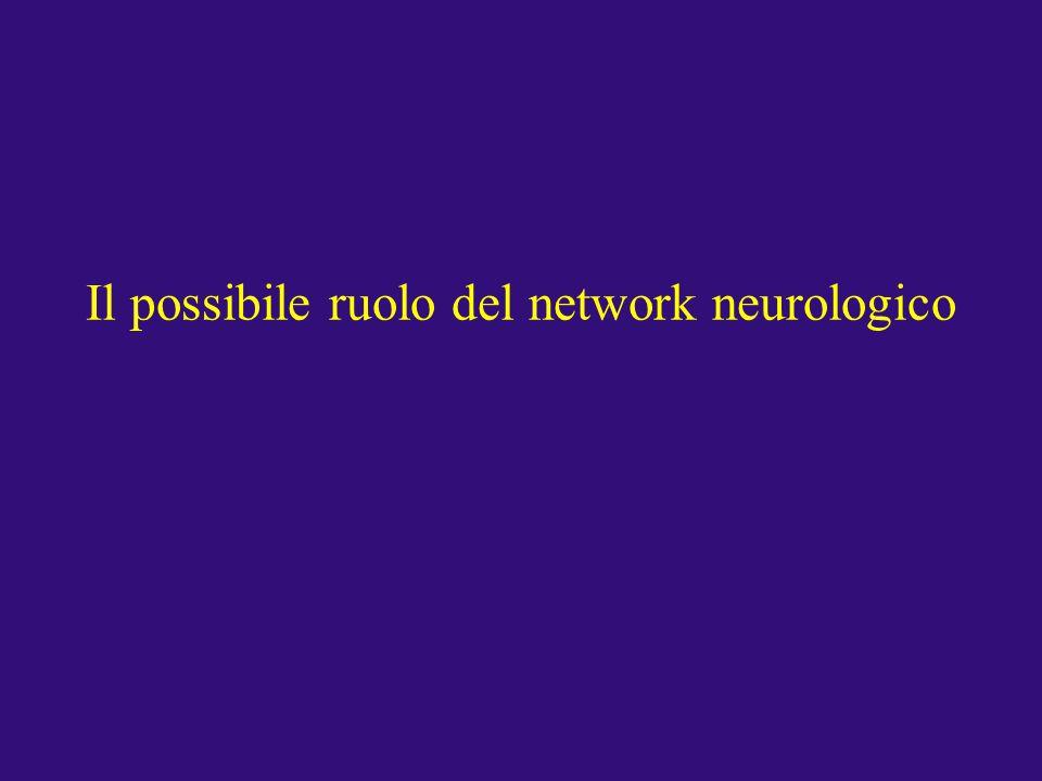 Il possibile ruolo del network neurologico
