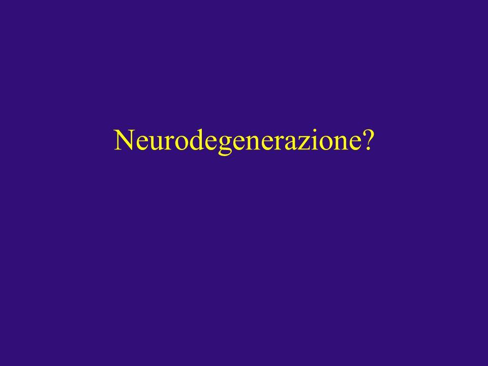 Neurodegenerazione?