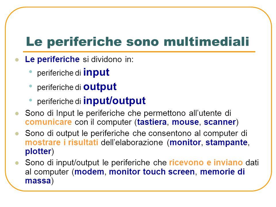 Comunicazione seriale e parallela Nella comunicazione parallela, quando viene trasmesso un dato, ad esempio formato da 8 bit, vengono inviati tutti i bit contemporaneamente su 8 diversi cavi Bit da trasmettere