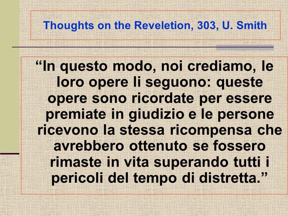 Thoughts on the Reveletion, 303, U.