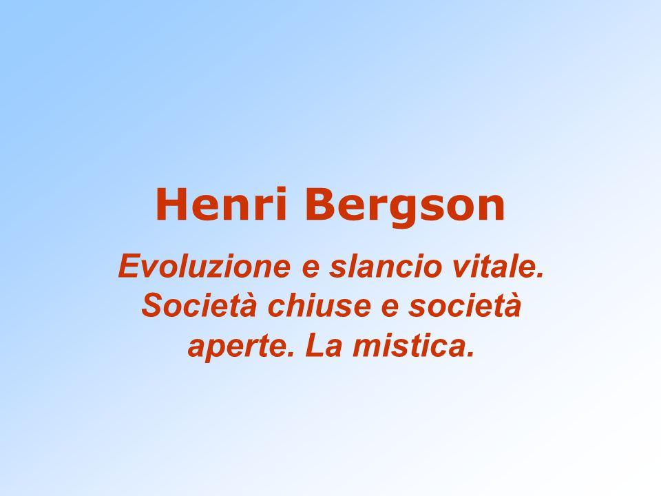 Bergson tenta di raggiungere, con una visione globale, il superamento di ogni dualismo spirito-corpo, concepiti non come realtà distinte, ma come poli di una medesima realtà.