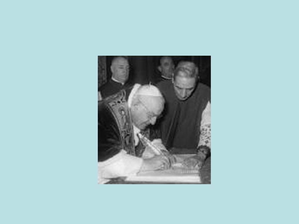 Vaticano II due correnti: Tradizionalista: ecclesiologia apologetica, aspetti giuridici della Chiesa Più attenta al dato biblico, dimensione interiore, comunitaria e dinamica della Chiesa Ruolo di Paolo VI