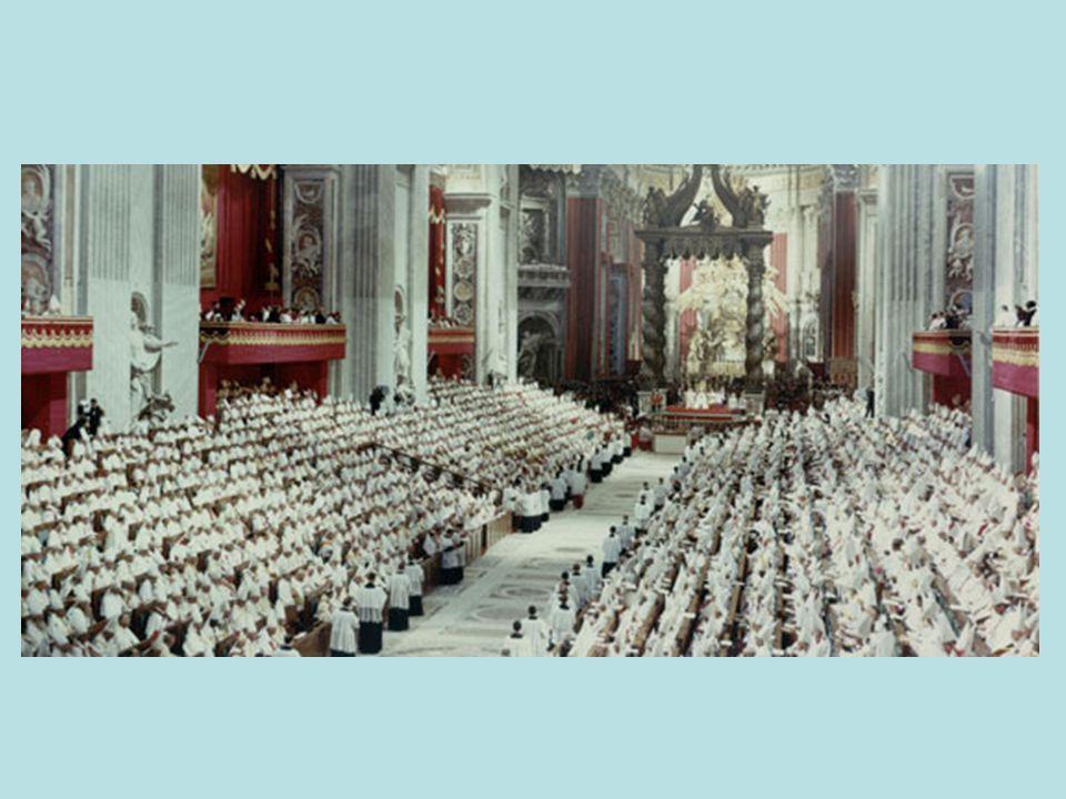 9 decreti Unitatis redintegratio (sull ecumenismo), Orientalium Ecclesiarum (sulle Chiese orientali), Inter Mirifica (sulle comunicazioni sociali), Christus Dominus (sulla missione pastorale dei Vescovi), Perfectae Caritatis (sulla vita religiosa), Optatam Totius (sulla formazione sacerdotale), Apostolicam Actuositatem (sull apostolato dei laici), Ad Gentes (sull attività missionaria della Chiesa), Presbyterorum Ordinis (sulla vita ed il ministero dei presbiteri