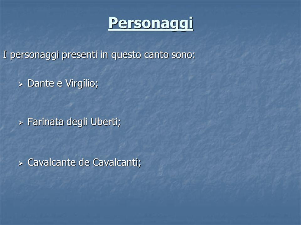 Farinata degli Uberti Nobile che visse a Firenze nel XIII secolo.