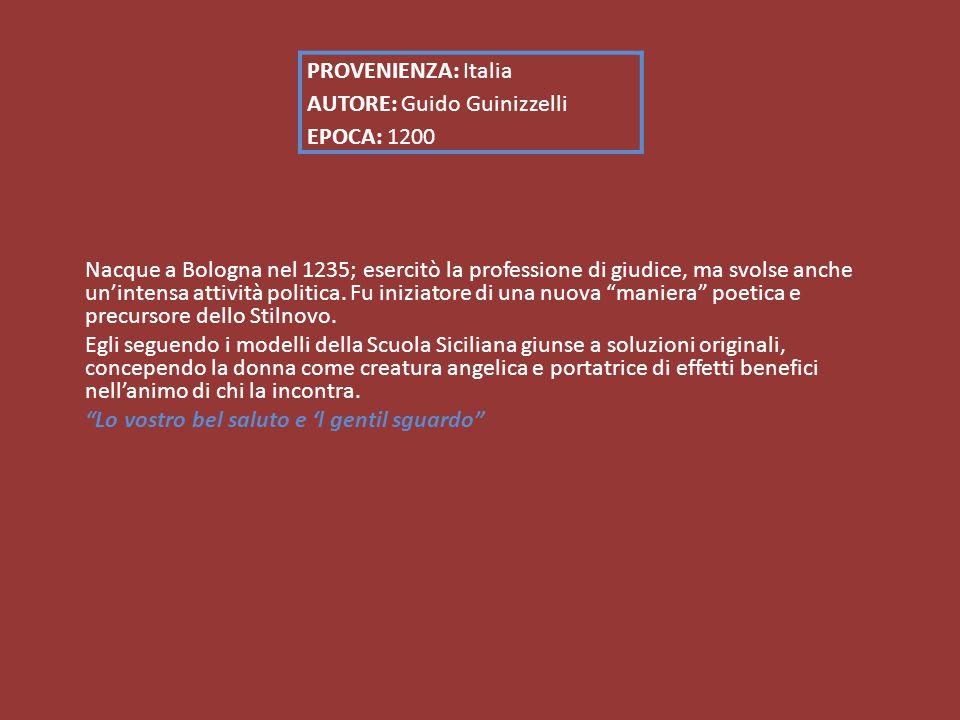 Nacque a Bologna nel 1235; esercitò la professione di giudice, ma svolse anche un'intensa attività politica.