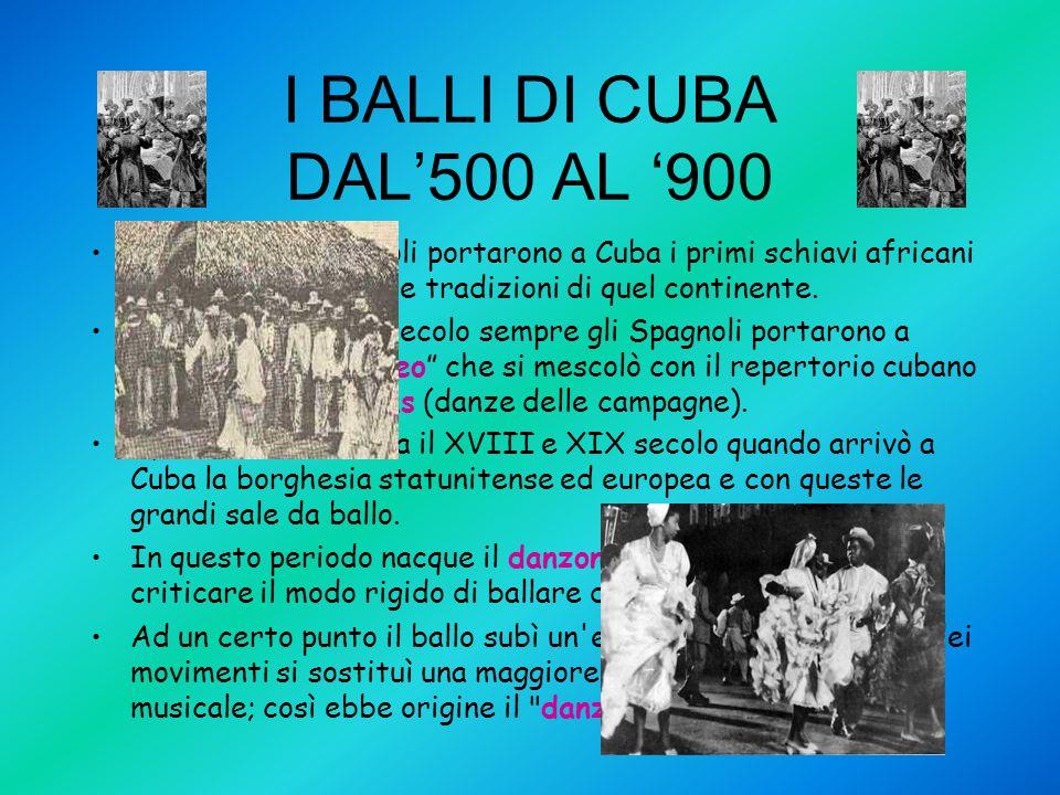 CUBA TRA IL FINE '800 E IL '900 Dopo tanti anni di sottomissione al governo spagnolo e dopo due lunghe guerre, i cubani raggiungono finalmente l'indipendenza ma, intervengono gli Stati uniti che occupano Cuba e ottengono dalla Spagna anche Porto Rico e le Filippine.