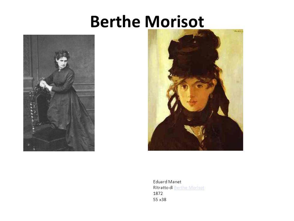 Berthe Morisot Eduard Manet Ritratto di Berthe MorisotBerthe Morisot 1872 55 x38