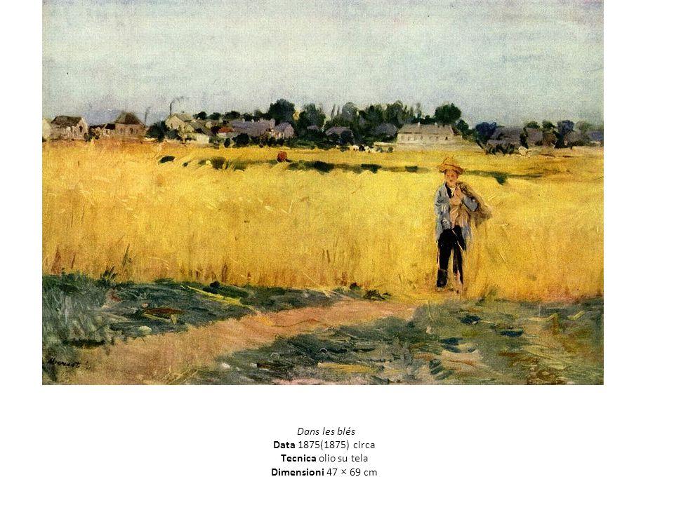 Dans les blés Data 1875(1875) circa Tecnica olio su tela Dimensioni 47 × 69 cm
