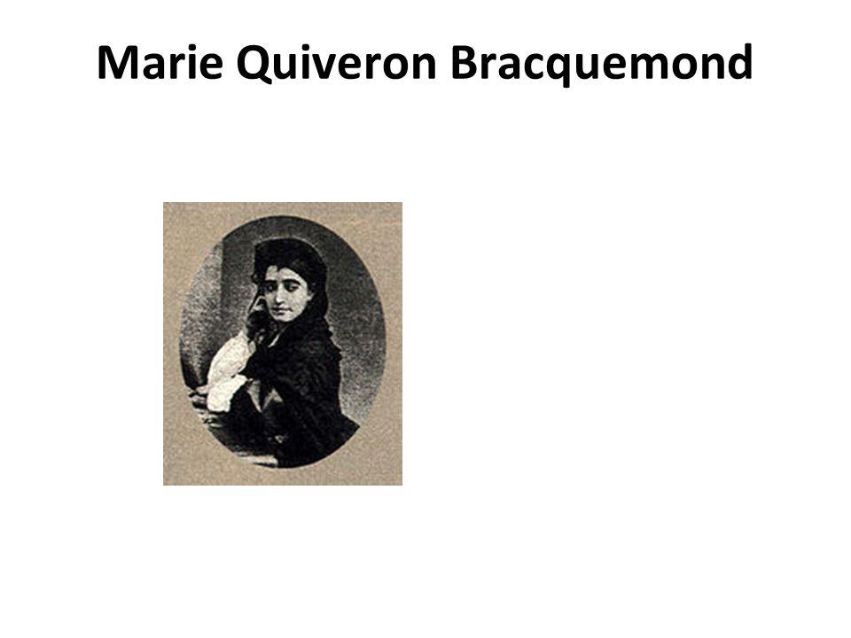 Marie Quiveron Bracquemond