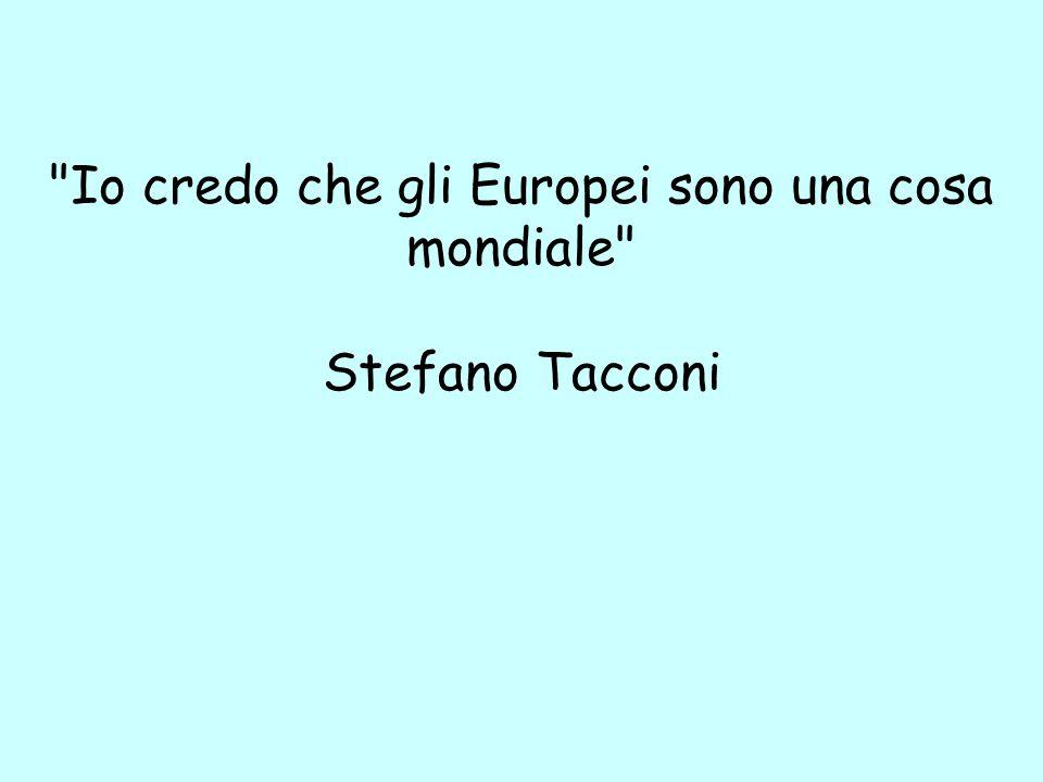 Io credo che gli Europei sono una cosa mondiale Stefano Tacconi