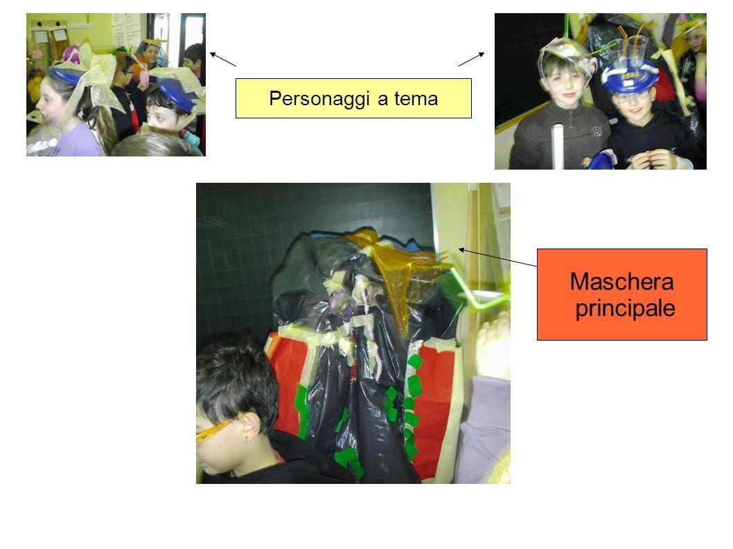 Personaggi a tema Maschera principale