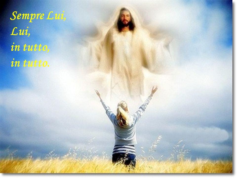 Vi è un'unica meta per i veri santi, un'unica consegna: Vivit vero in me Christus.