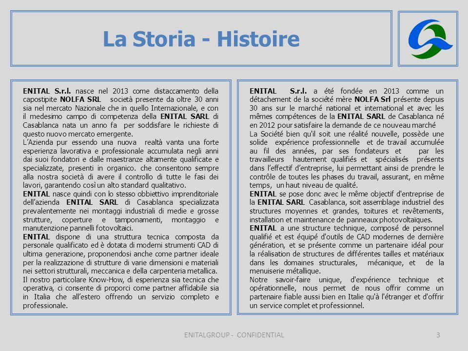 3 La Storia - Histoire ENITALGROUP - CONFIDENTIAL ENITAL S.r.l.