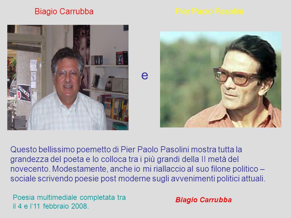 Questo lavoro è stato fatto per la parte informatica e di super visione al testo da Carmelo Santaera (a sinistra) e per la parte letterario-poetica da