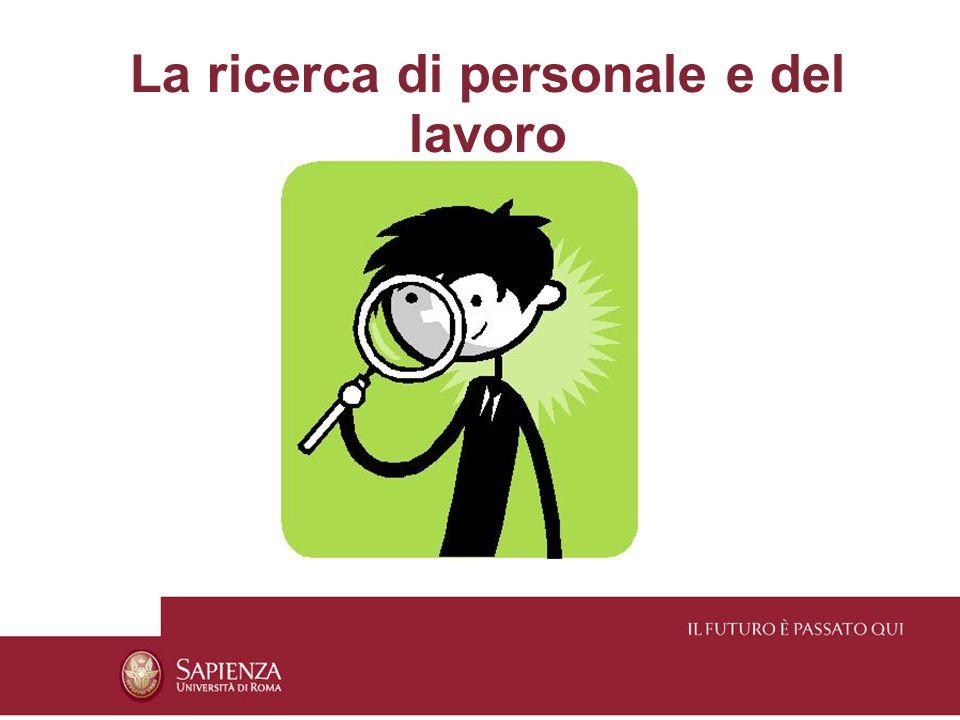 Canali di ricerca interni ad uso del management Quali obiettivi.