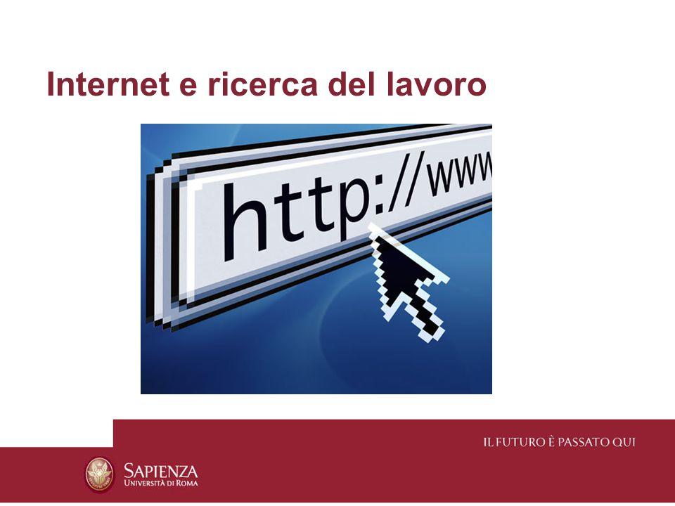 Internet e ricerca del lavoro