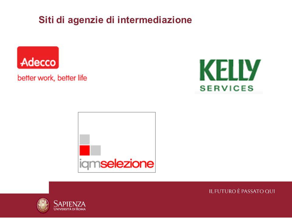Siti di agenzie di intermediazione