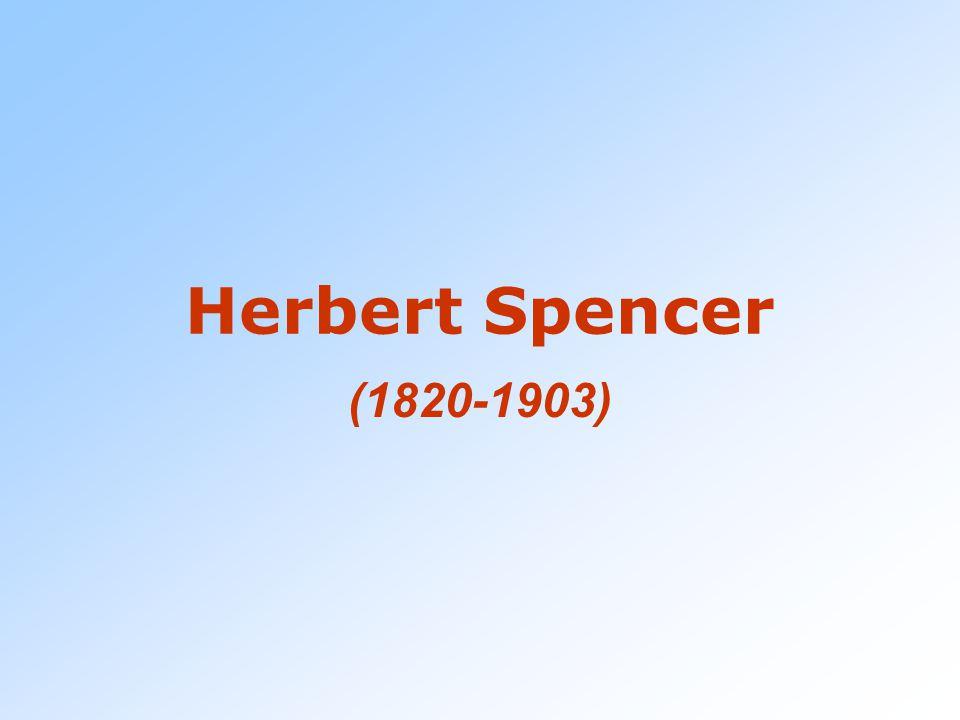 Notizie bio-bibliografiche Inglese, ingegnere, abbandona la professione per fare lo scrittore (1845) Già dal 1857 riconosce nell'evoluzione la legge e la causa del progresso.