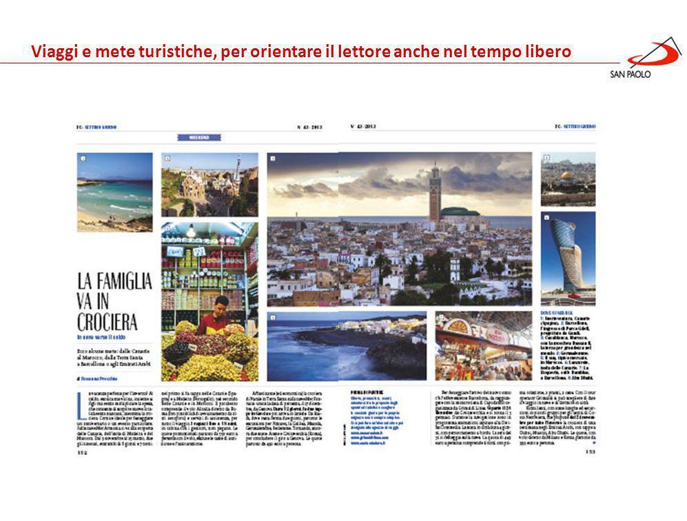 Benessere Gennaio 2013 Viaggi e mete turistiche, per orientare il lettore anche nel tempo libero