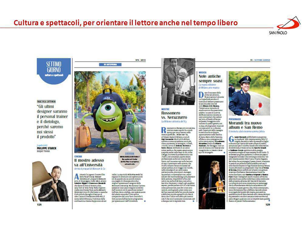 Benessere Gennaio 2013 Cultura e spettacoli, per orientare il lettore anche nel tempo libero