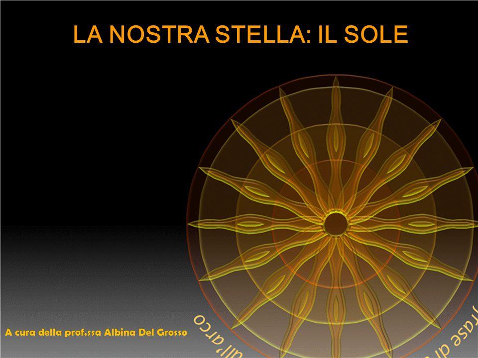 LA NOSTRA STELLA: IL SOLE A cura della prof.ssa Albina Del Grosso