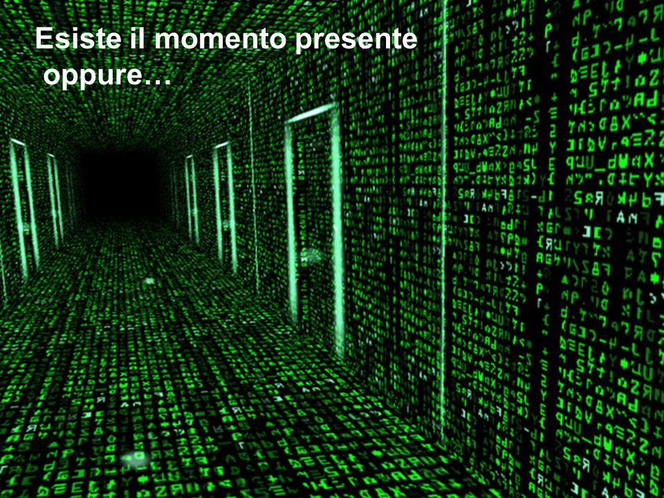 Esiste il momento presente oppure…