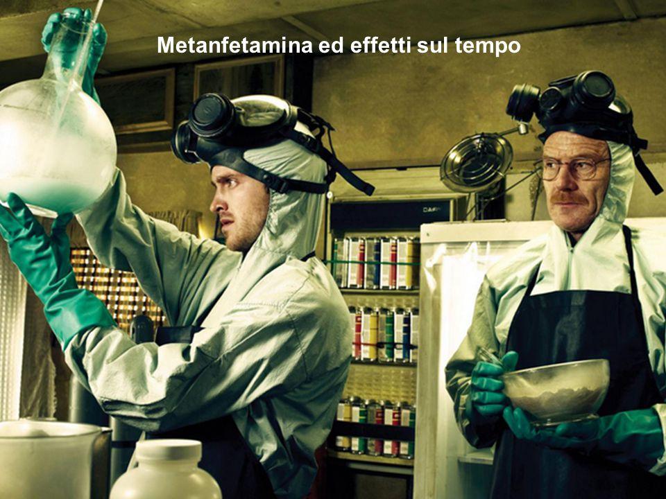 Metanfetamina ed effetti sul tempo