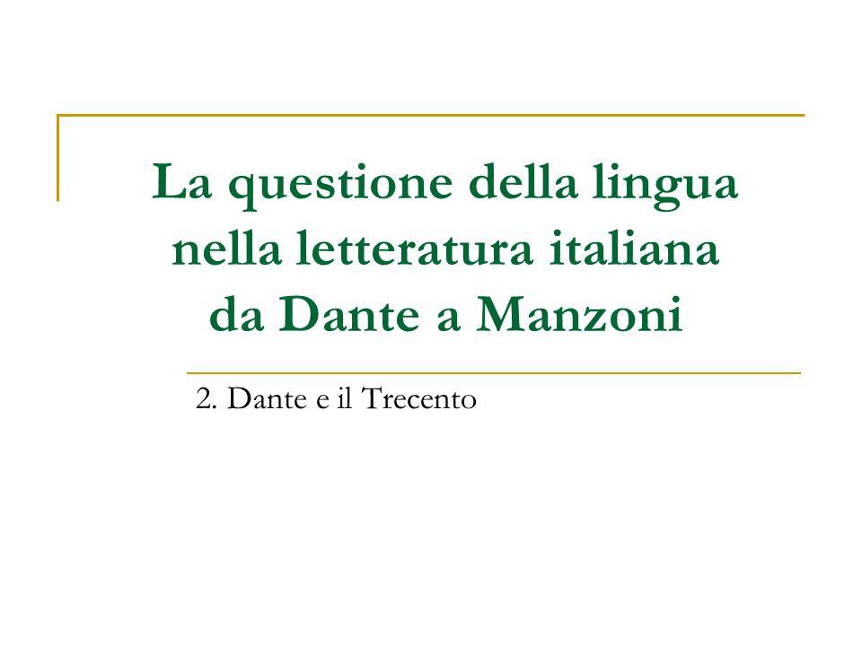 Dante Alighieri (1265-1321) nel canto XXVI del Paradiso – Adamo, primo uomo Opera naturale è ch'uom favella; ma così o così, natura lascia poi fare a voi, secondo che v'abbella [...] l'uso de' mortali è come fronda in ramo, che sen va e altra vene.