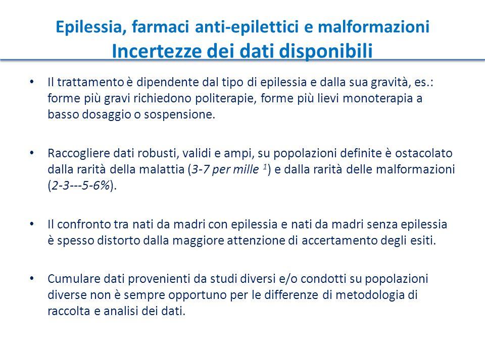 Il trattamento è dipendente dal tipo di epilessia e dalla sua gravità, es.: forme più gravi richiedono politerapie, forme più lievi monoterapia a bass