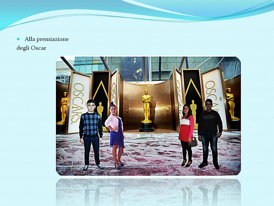 Alla premiazione degli Oscar