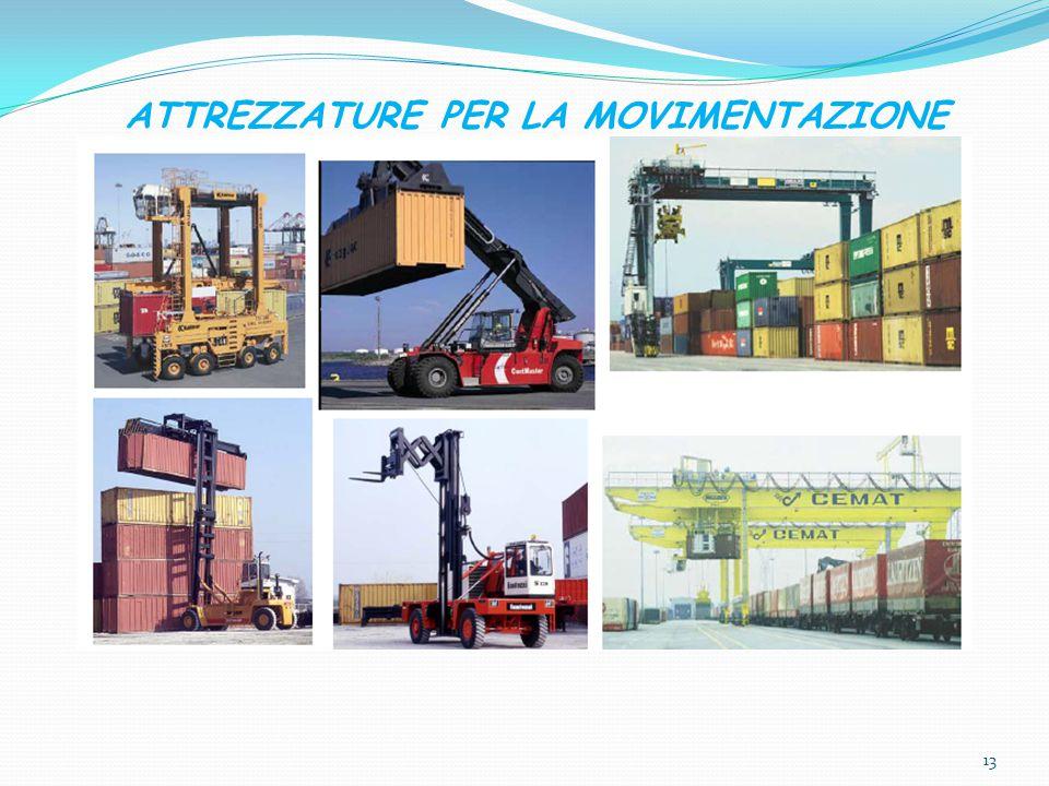 ATTREZZATURE PER LA MOVIMENTAZIONE 13