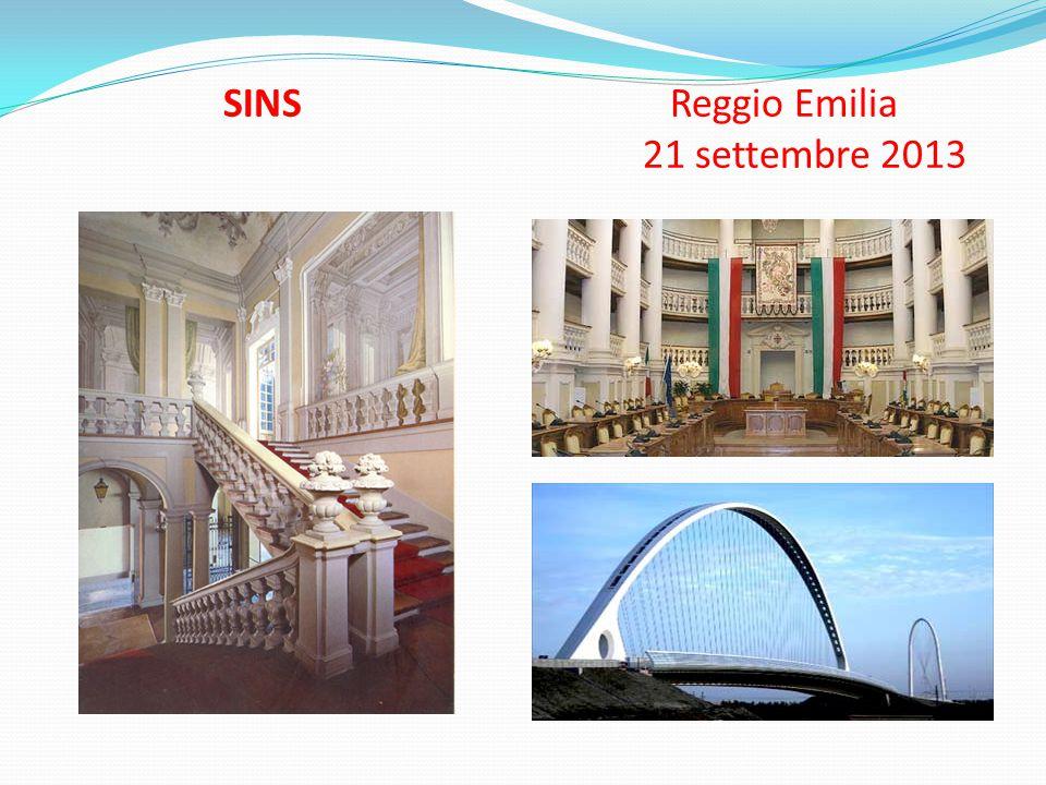 SINS Reggio Emilia 21 settembre 2013