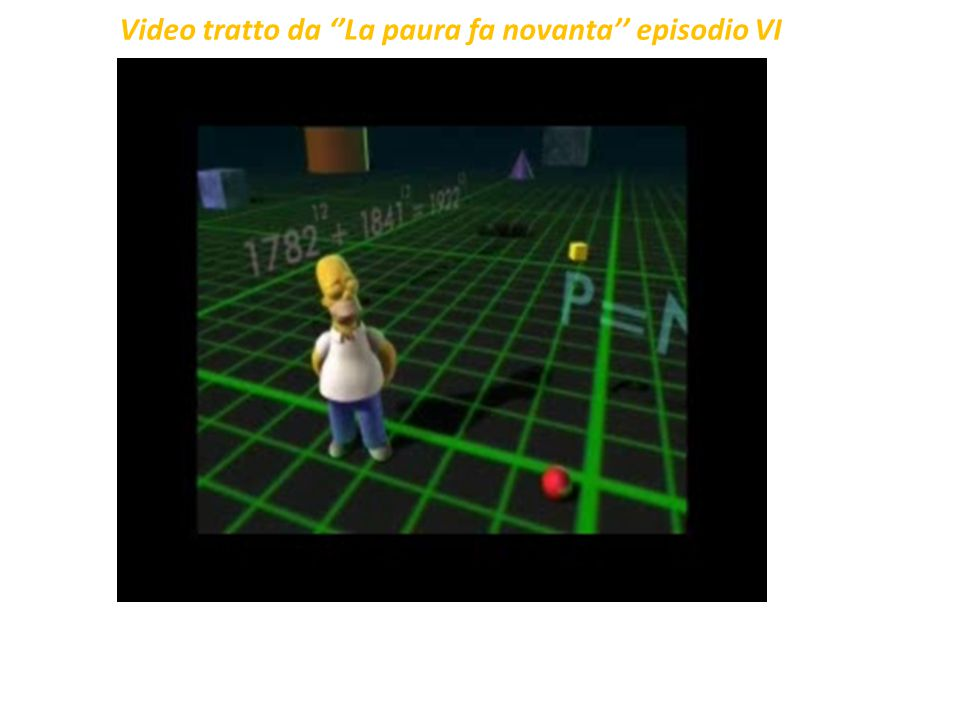 Video tratto da ''La paura fa novanta'' episodio VI