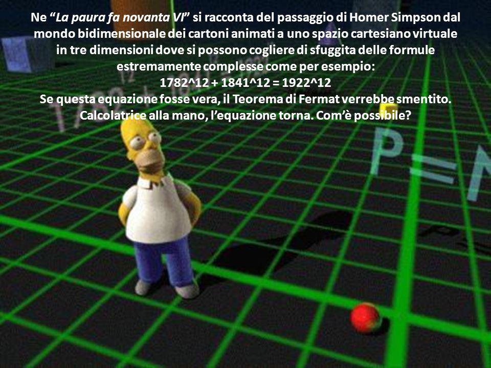 """…Il nostro caro Homer, in un momento di genialità, affronta degli argomenti estremamente complicati. Nell' episodio intitolato """"$pringfield"""" (1F08), H"""