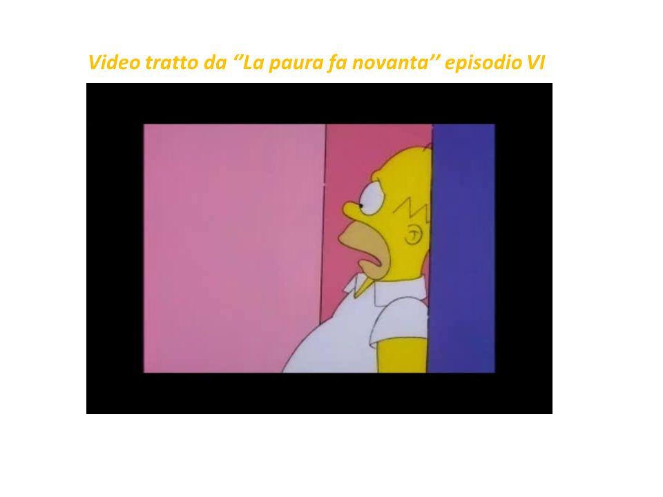 """Ne """"La paura fa novanta VI"""" si racconta del passaggio di Homer Simpson dal mondo bidimensionale dei cartoni animati a uno spazio cartesiano virtuale i"""