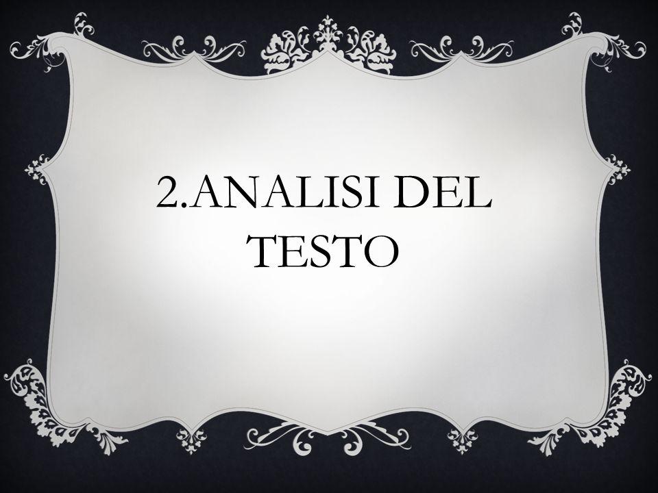 2.ANALISI DEL TESTO