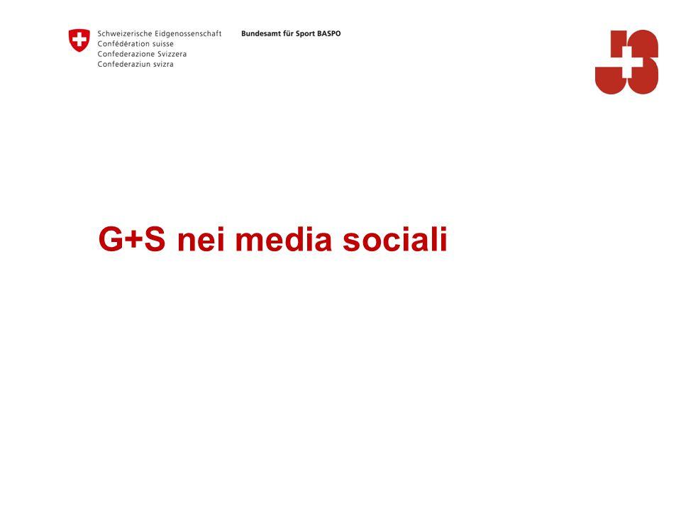 G+S nei media sociali