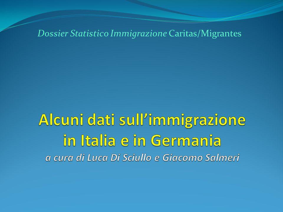 Dossier Statistico Immigrazione Caritas/Migrantes