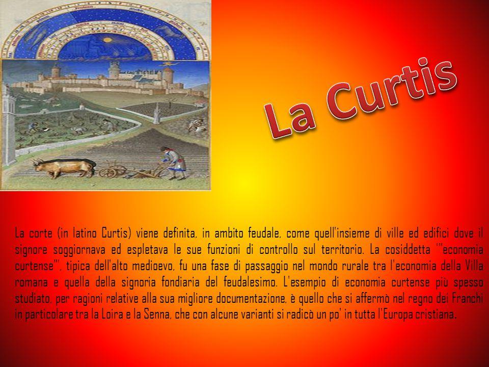La corte (in latino Curtis) viene definita, in ambito feudale, come quell'insieme di ville ed edifici dove il signore soggiornava ed espletava le sue
