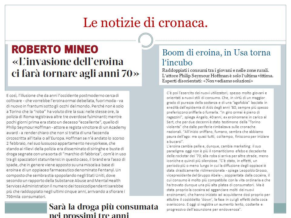 La situazione italiana nel contesto europeo Fonte: EMCDDA