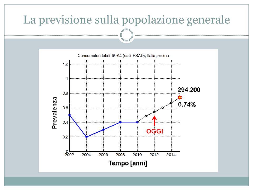 FOCUS ITALIA: GLI STUDENTI Lo studio recente del 2013 condotto dal DPA sul consumo di sostanze psicotrope tra gli studenti delle scuole secondarie di secondo grado (su un campione di 34.385 soggetti di età compresa tra 15-19 anni) evidenzia: Un aumento dei consumi (una o più volte negli ultimi 12 mesi) sopratutto della cannabis (19.1 nel 2012 vs 21.5% nel 2013), con lievi variazioni anche per cocaina (1,86% nel 2012 vs 2,05% nel 2013), ecstasy (0.82% nel 2012 vs 0.97% nel 2013), amfetamine (0.58% nel 2012 vs 0.75% nel 2013) e allucinogeni (1.72% nel 2012 vs 2.13% nel 2013).