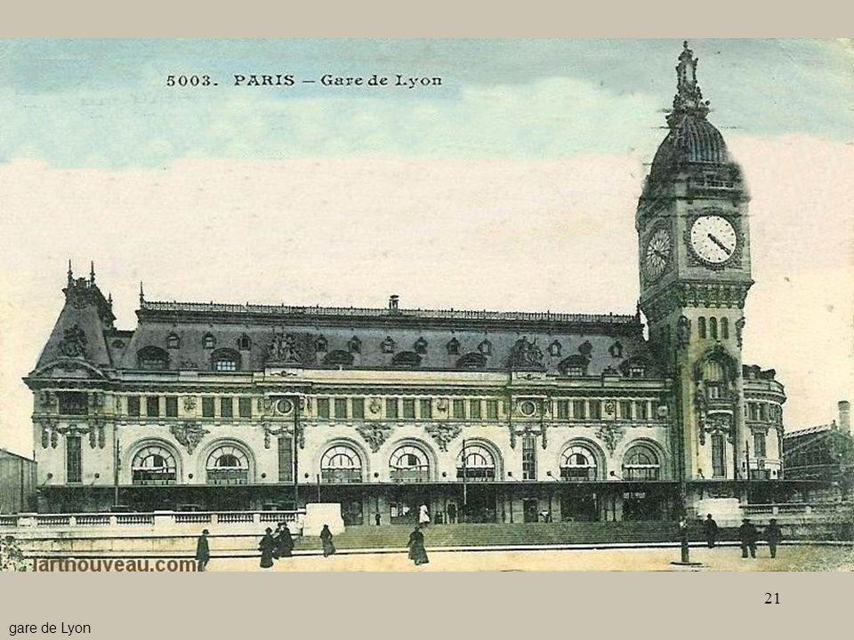 21 - Le stazioni4 gare de Lyon