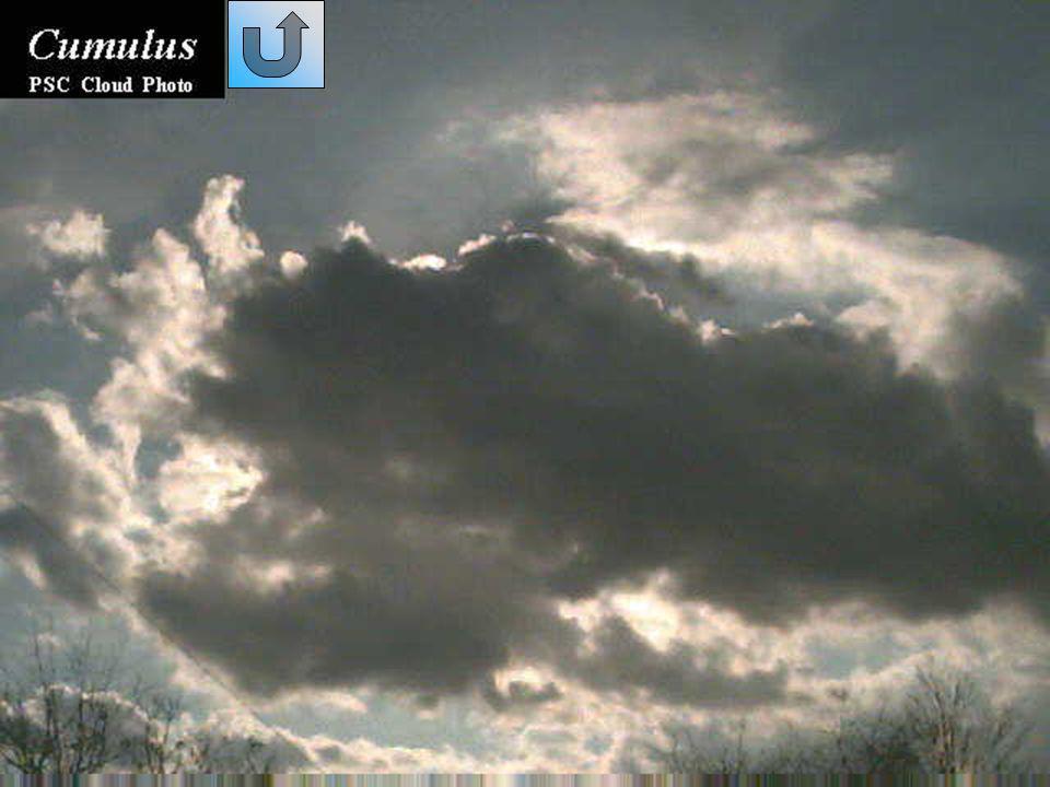 Nembostrati (Ns) Sono nubi basse e/o medie, generalmente grigio scure; vi sarà difficile riconoscere la loro base, spesso non ben definita.