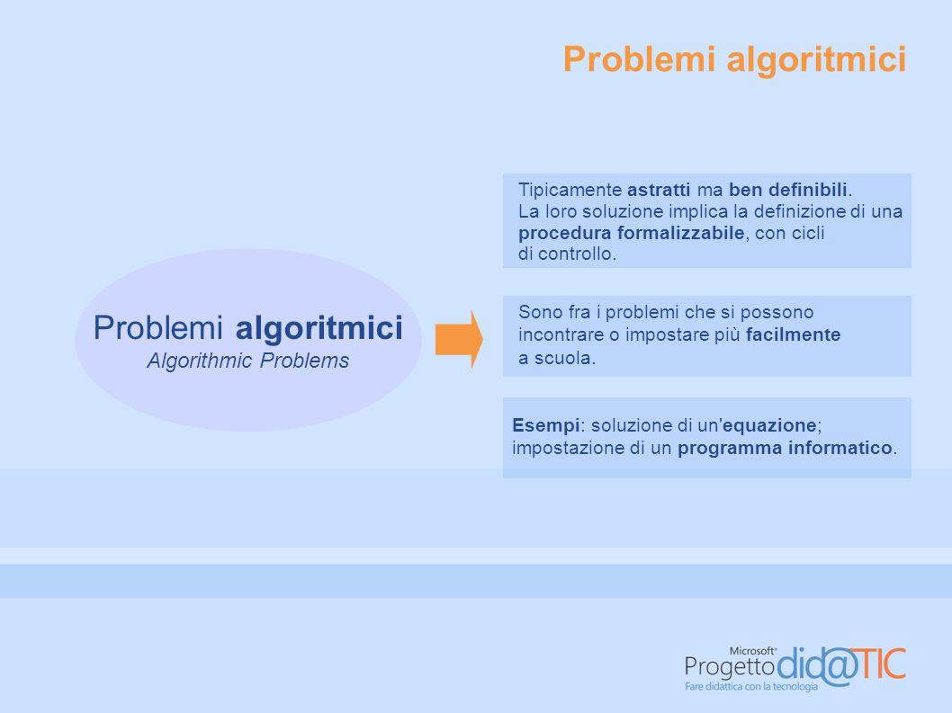 Problemi narrativi Story Problems Sono una variante dei problemi algoritmici.
