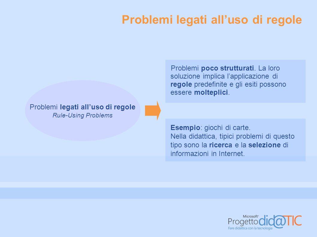 Problemi legati a decisioni da prendere Problemi legati a decisioni da prendere Decision-Making Problems Problemi ben strutturati e facilmente ancorabili alla realtà.